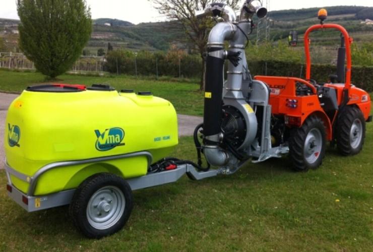 Pulverisateurs-Vignobles en espalier-Articulés-Power 50lt 1000 - Lt 1500 - Lt 2000