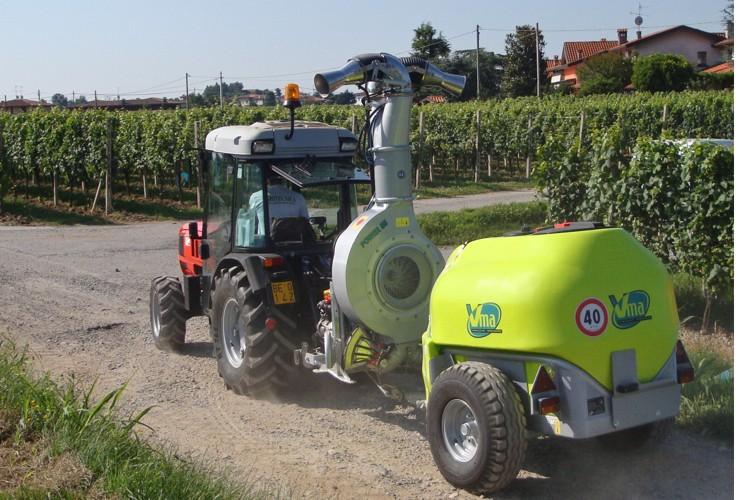 Pulverisateurs-Vignobles en espalier-Articulés-Power 55lt 1000 - Lt 1500 - Lt 2000