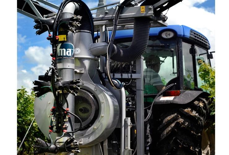 Pulverisateurs-Vignobles en espalier-Multi-rangée-Power 55.12  Lt 1000 - Lt 1500 - Lt 2000
