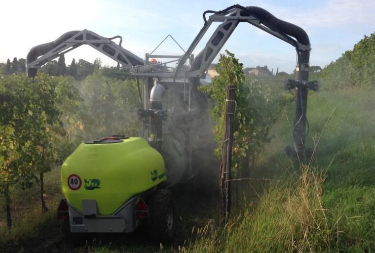 Pulverisateurs-Vignobles en espalier-Multi-rangée-Power Multirow A Doppia Calata Centralelt 1000 - Lt 1500 - Lt 2000