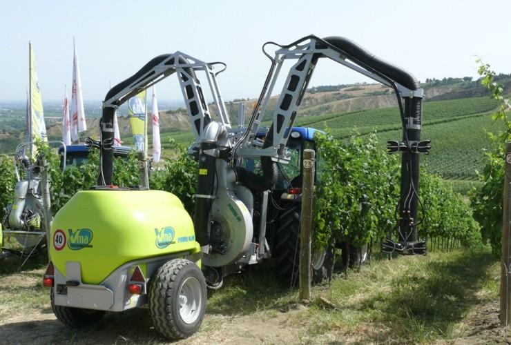 Pulverisateurs-Vignobles en espalier-Multi-rangée-Power Multirow A Singola Calata Centralelt 1000 - Lt 1500 - Lt 2000