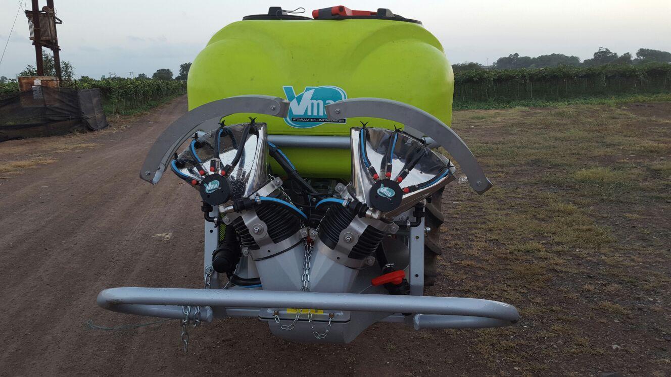 Pulverisateurs-Vignobles en espalier-Tractés-Nm 600