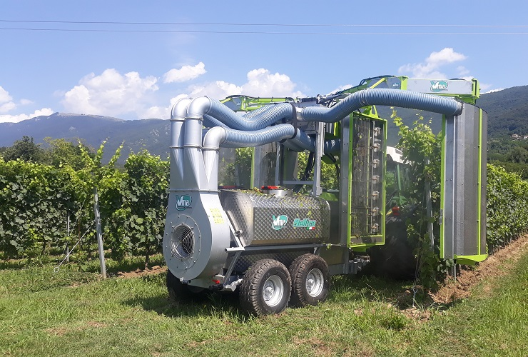 Pulverisateurs-Vignobles en espalier-Anti-dérive-Bellica