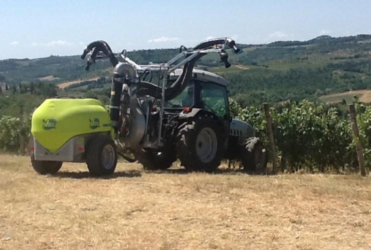Pulverisateurs-Vignobles en espalier-Deux fils-Power 55.12  Lt 1000 - Lt 1500 - Lt 2000