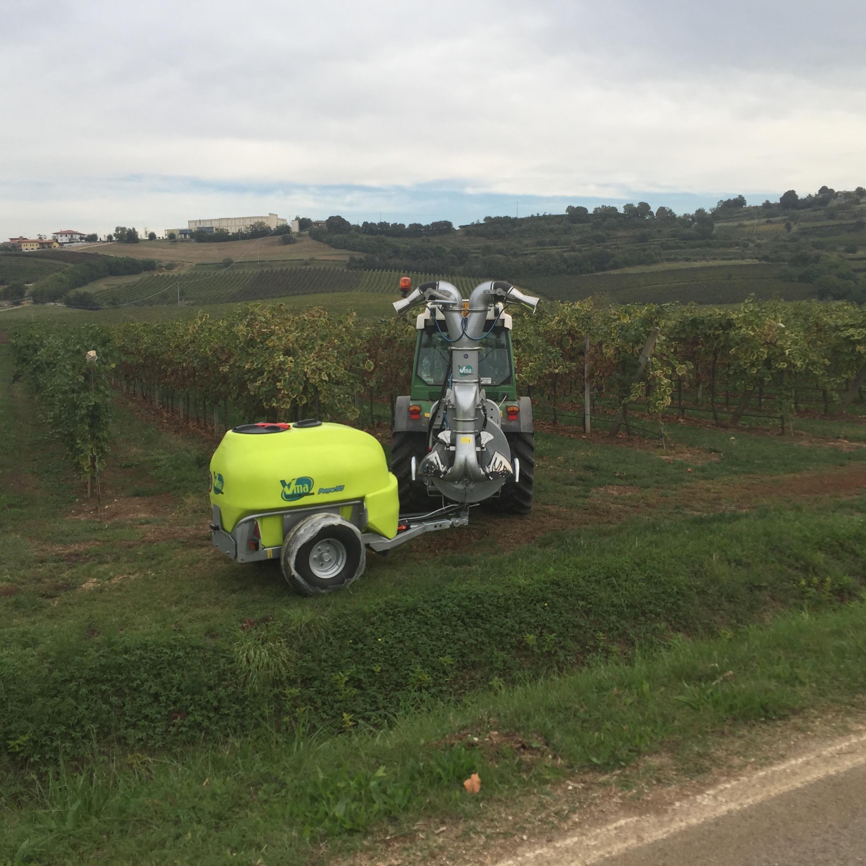 Pulverisateurs-Vignobles en espalier-Deux fils-Power 55lt 1000 - Lt 1500 - Lt 2000