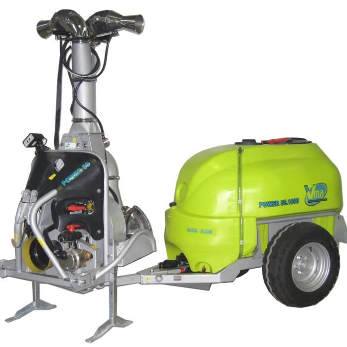 Pulverisateurs-Vignobles en espalier-Deux fils - POWER 50<br>LT 1000 - LT 1500 - LT 2000  - ≥ CV 60 - 44 KW